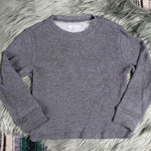 [Tucker + Tate] boy's gray thermal top size 3y